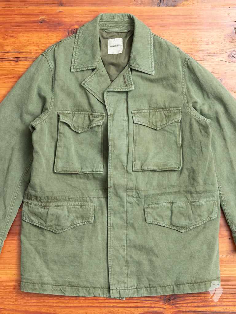 Fatigue Jacket in Military Green