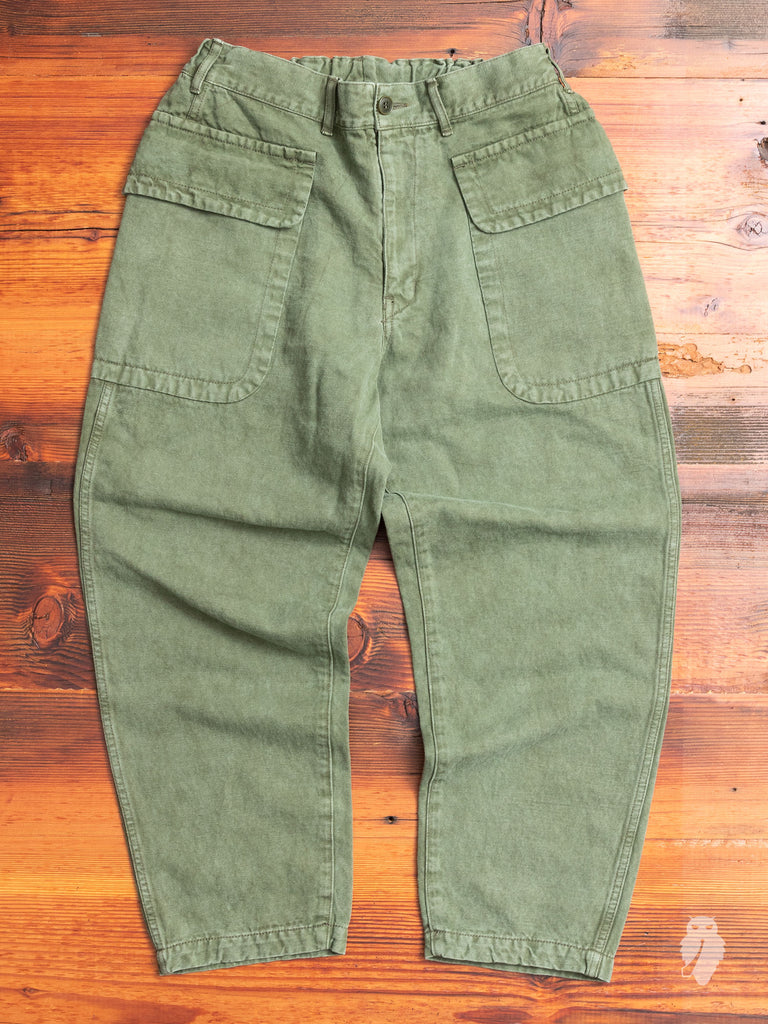 Fatigue Trousers in Military Green