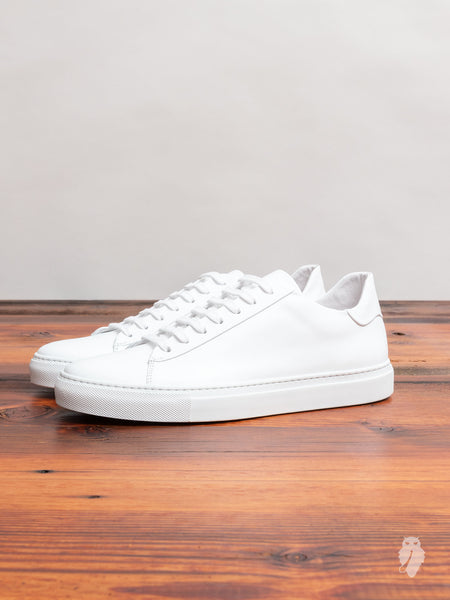 Court Low-Top Sneaker in White