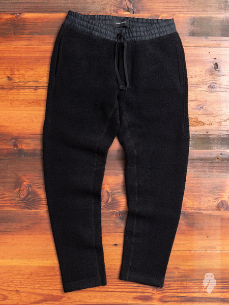 Tactical Fleece Pants in Black
