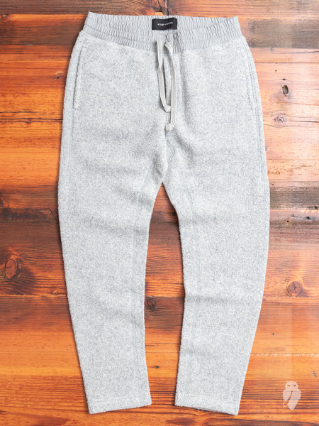 Tactical Fleece Pants in Heather Grey