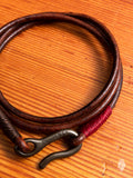 Leather Triple Wrap Bracelet in Distressed Tan