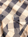 Norris Selvedge Flannel in Khaki