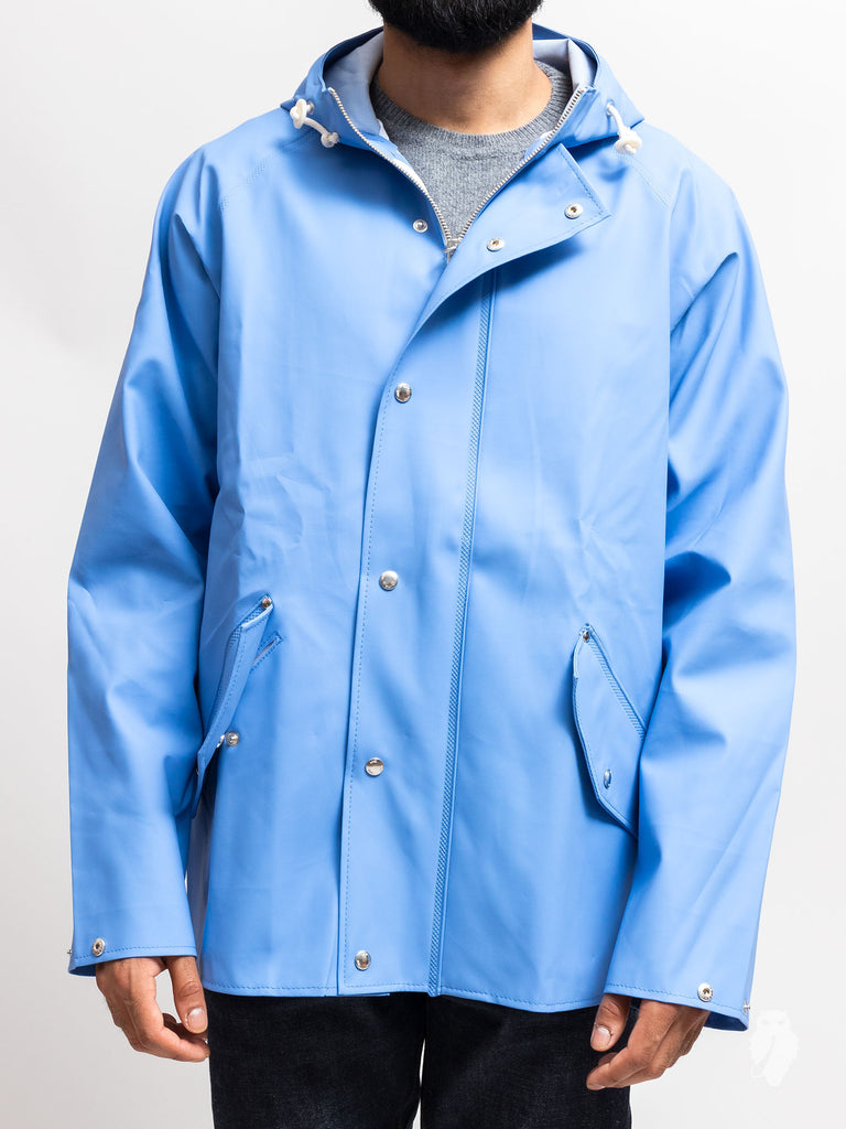 Anker Rain Jacket in Luminous Blue