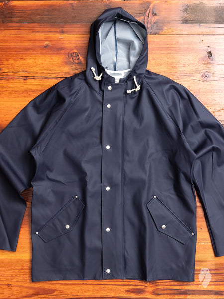 Anker Rain Jacket in Dark Navy