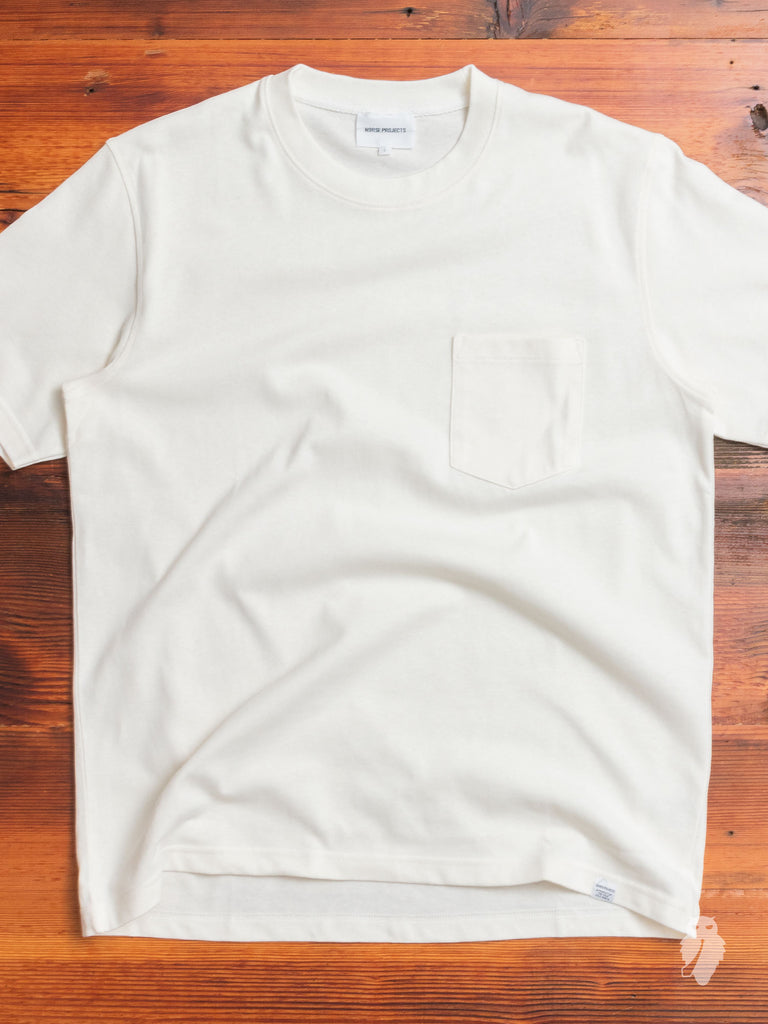 Johannes Pocket T-Shirt in Ecru