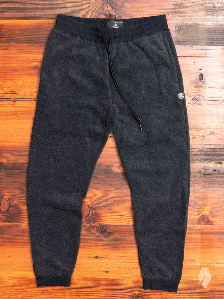 Polartec Fleece Pants in Charcoal
