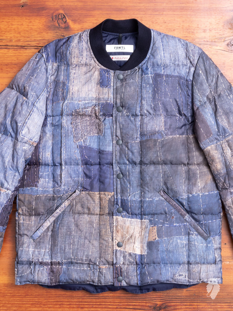 """Zanter x FDMTL"" Printed Boro Repair Jacket"