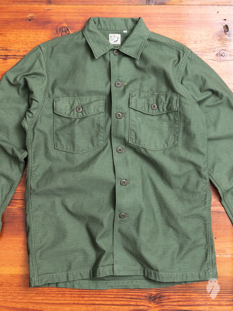 US Army Shirt in Military Green