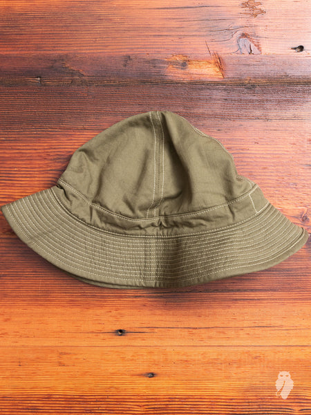 US Navy Hat in Military Green