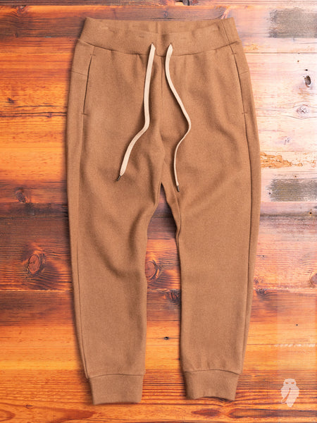 Cashmere Sweatpant in Camel