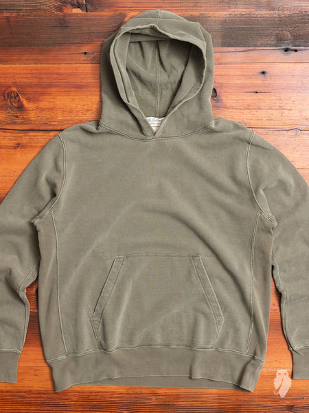 Pullover Hoodie in Washed Khaki