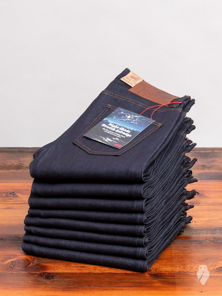 """Night Shade Stretch"" 12oz Selvedge Denim - Super Guy Fit"