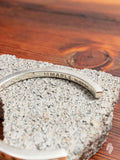 Lightning Bangle in Silver