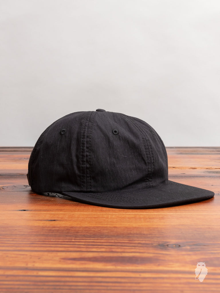 Weatherproof Baseball Hat in Black