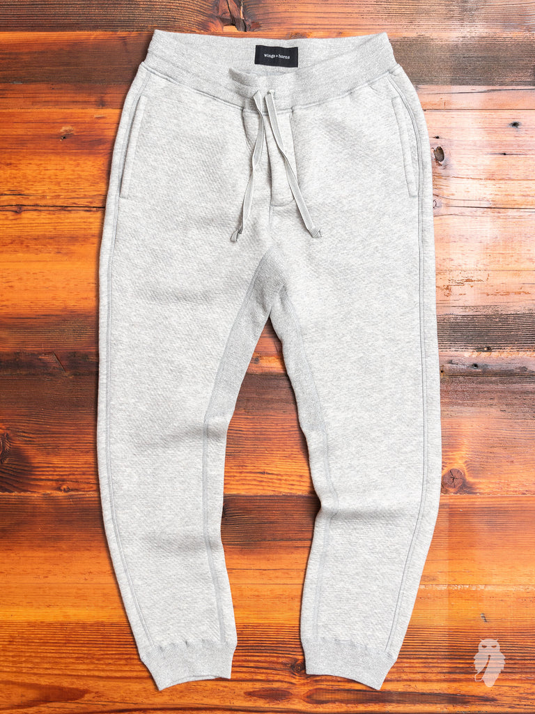 Cabin Fleece Sweatpant in Concrete