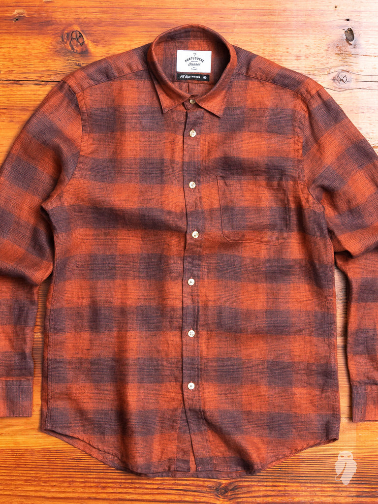 Fade Button-Up Shirt in Amber