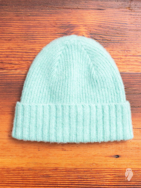 """King Jammy"" Wool Beanie in Mint"