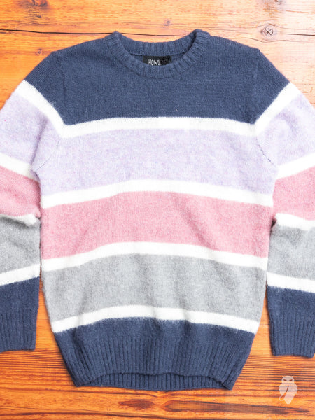 """World Class"" Wool Sweater in Lotion"