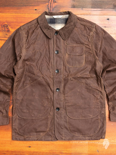 Waxed Canvas Hunting Jacket in Field Tan
