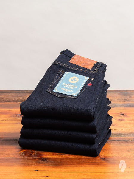 """Emperor of Slub"" 23oz Loomstate Tempi Selvedge Denim - Weird Guy Fit"