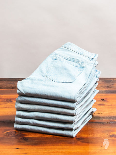 14.5oz Stonewashed Selvedge Denim - Petit New Standard