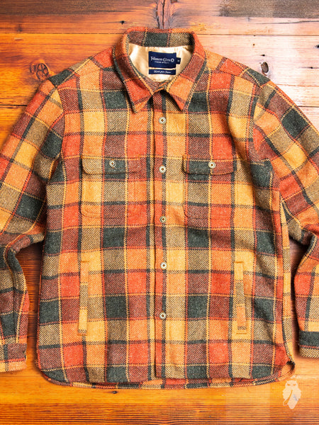 Alta Work Shirt in Sierra Orange