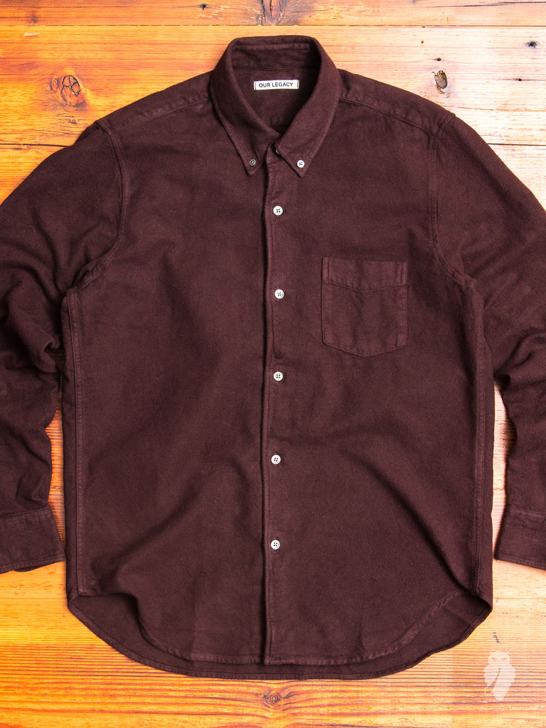 1950s Ultimate Flannel in Plum