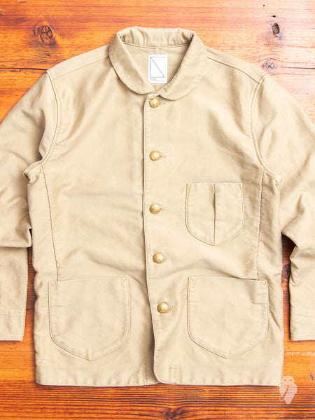 Urchin Coverall Jacket in Beige