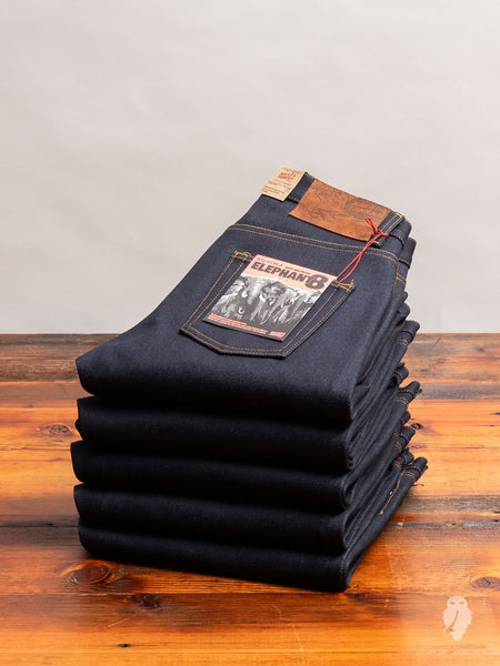 """Elephant 8"" 21oz Selvedge Denim - Easy Guy Fit"