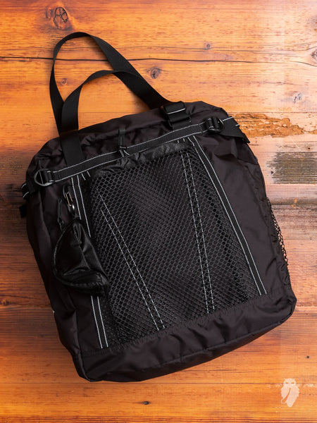 25L Tote Bag in Black