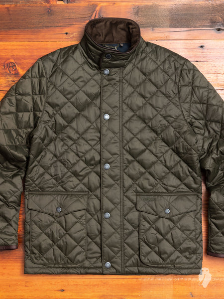 """Evanton"" Quilt Jacket in Sage"