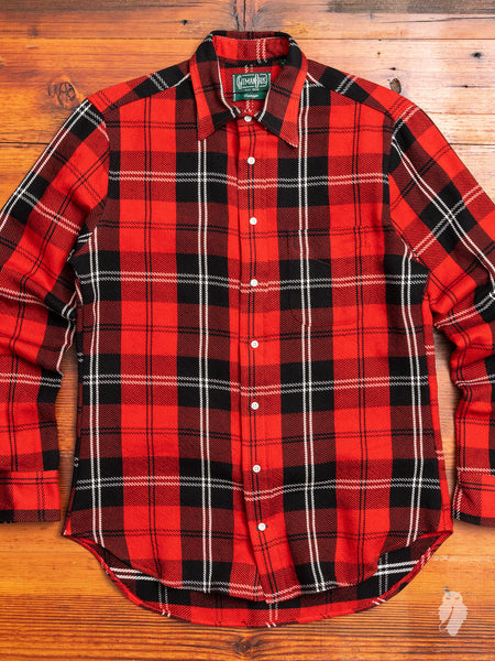 """10th Anniversary"" Triple-Yarn Flannel in Red"