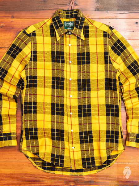 """10th Anniversary"" Triple-Yarn Flannel in Yellow"