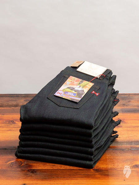 "Dragon Ball Z ""Cell Perfect Selvedge"" 12.5oz Stretch Selvedge Denim - Weird Guy Fit"