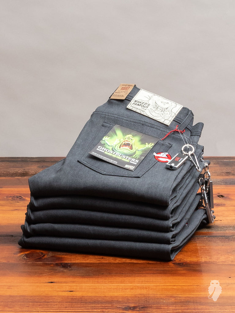 "Ghostbusters ""Slimer"" Glow-In-The-Dark 11oz Denim - Weird Guy Fit"