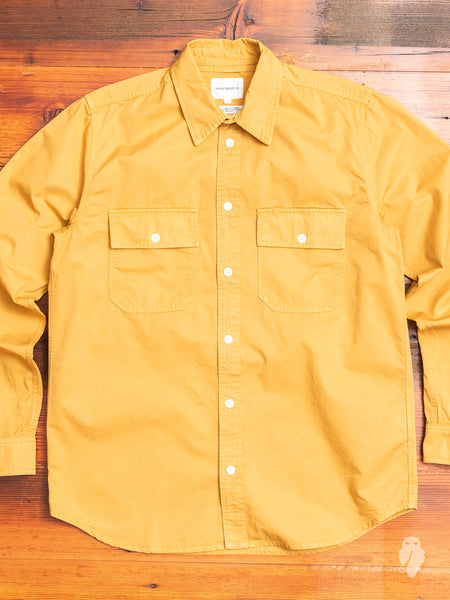 Villads Work Shirt in Montpellier Yellow