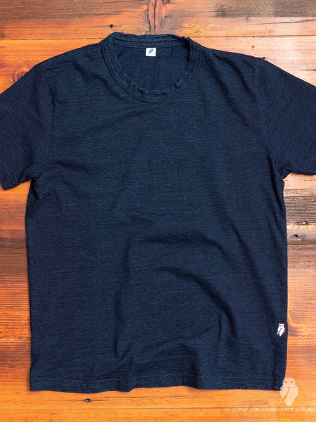 """10th Anniversary"" T-Shirt in Indigo"
