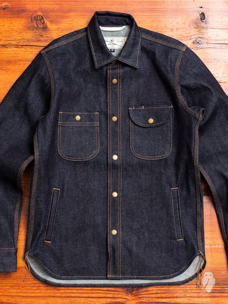Service Shirt in Indigo