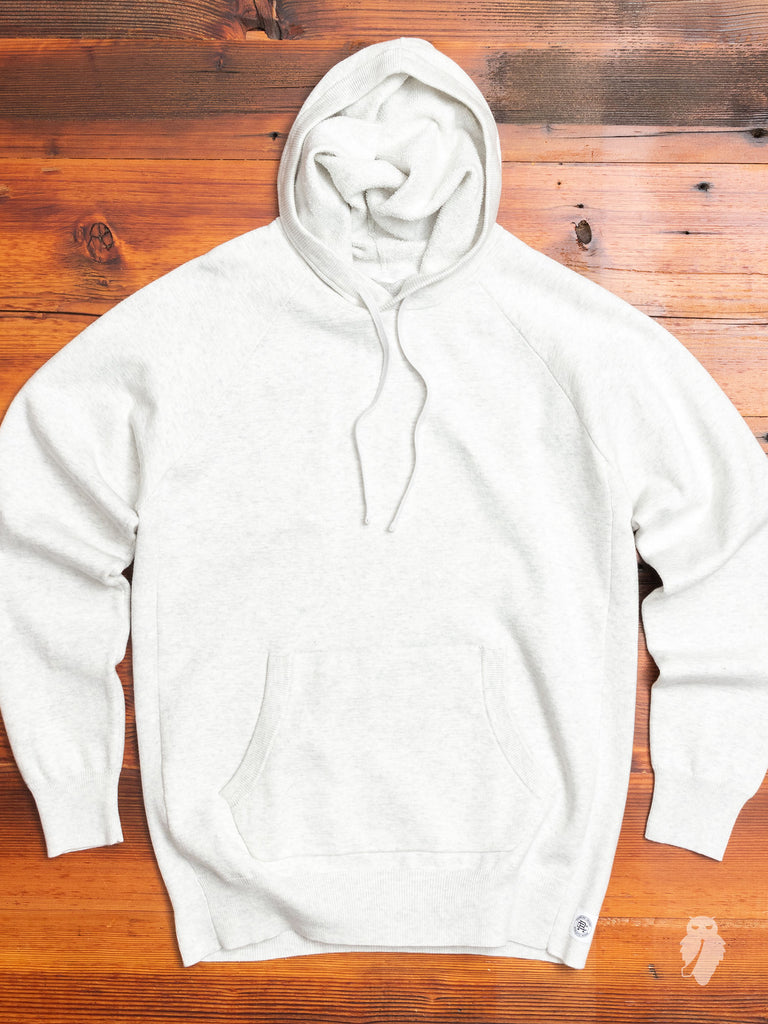 """Engineered Terry"" Pullover Hoodie in Heather Ash"