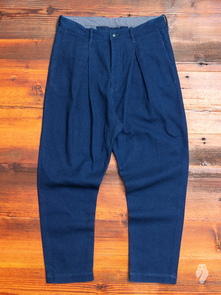 Sashiko Trousers in Indigo