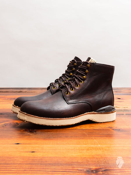 Virgil Boots-Folk in Dark Brown