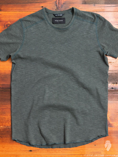 1x1 Slub T-Shirt in Pine