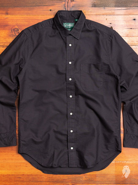 Overdyed Oxford in Black