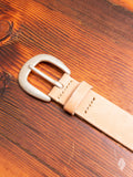 6210 Wild Leather Belt in Natural