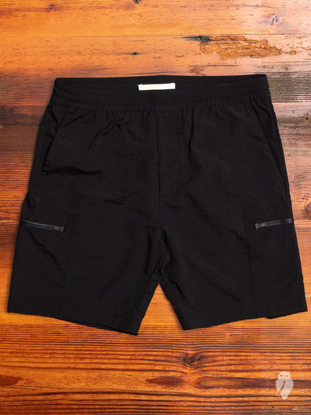 Luther Straight Shorts in Black