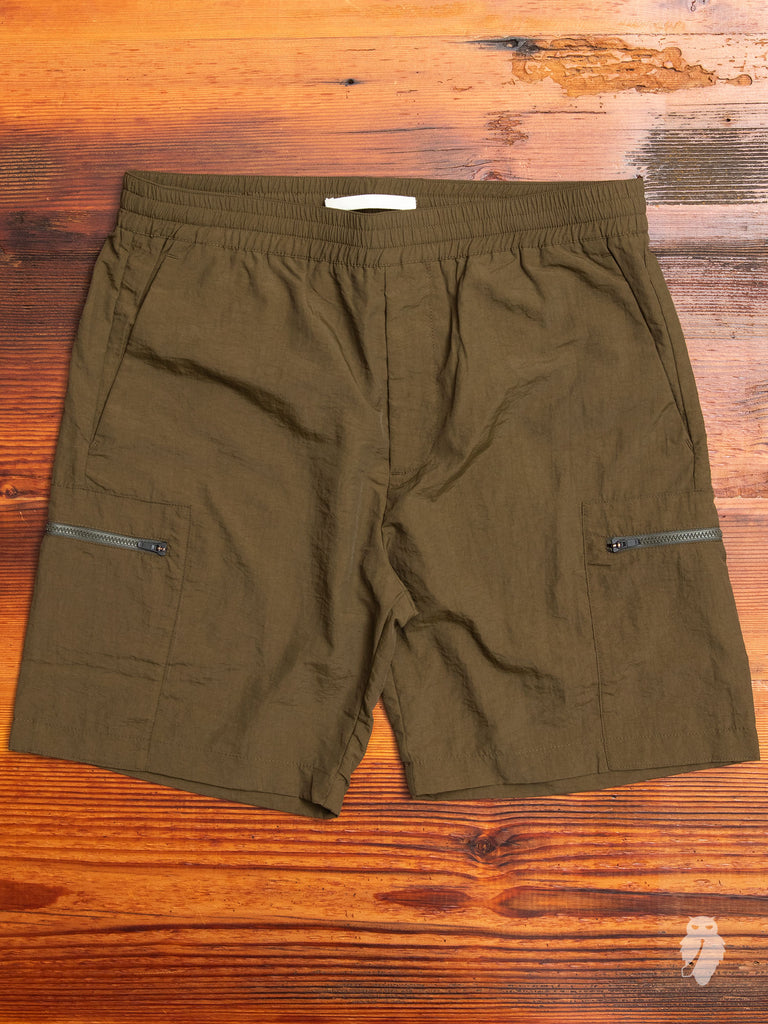 Luther Straight Shorts in Ivy Green