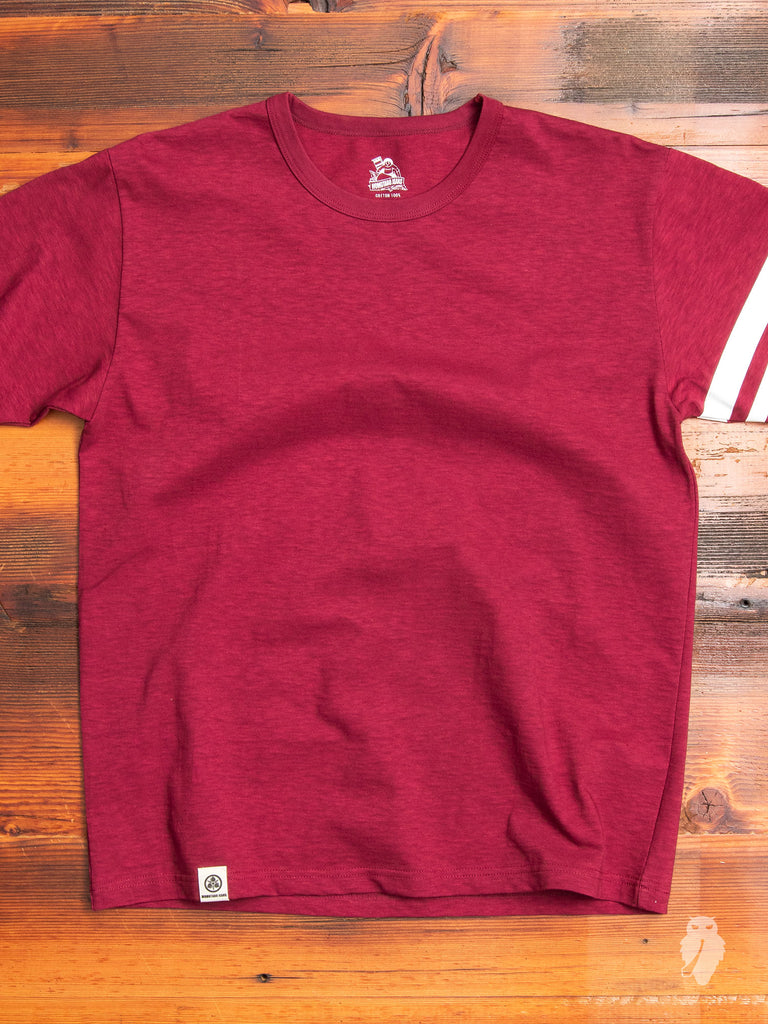 "MT302 ""Going to Battle"" T-Shirt in Burgundy"