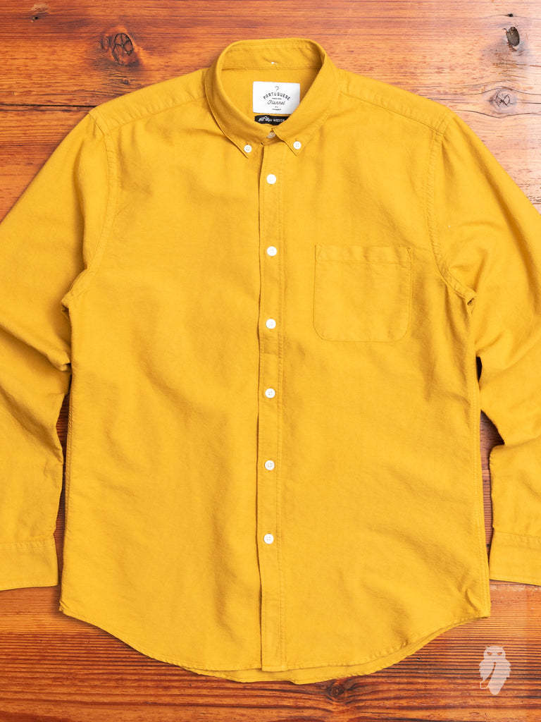 Belavista Button-Up Shirt in Honey