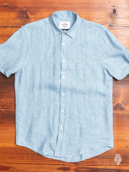 Rail Button-Up Shirt in Blue